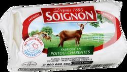 Fromage Bûchette de chèvre au lait pasteurisé SOIGNON, 23%MG, 120g