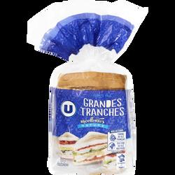Pain de mie sandwich nature U, 550g