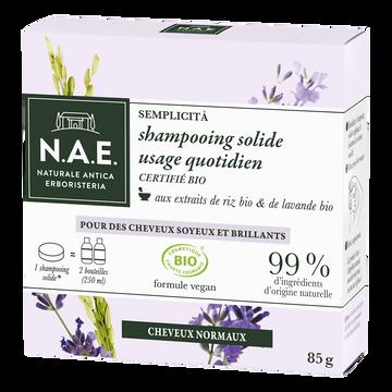 N.A.E. Shampooing Solide Bio Quotidien N.a.e.85g