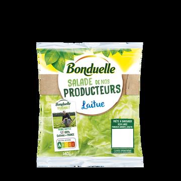 Bonduelle Laitue Salade De Nos Producteurs, Bonduelle, Sachet 140g