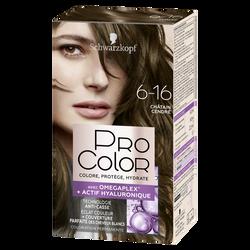 Coloration PRO COLOR châtain cendré 6.16