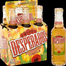 Bière arômatisée téquila DESPERADOS, 5,9° 6x33cl