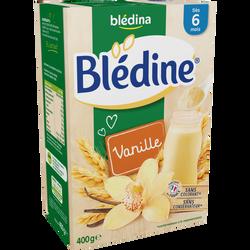 Blédine vanille  BLEDINA, dès 6 mois, 400g