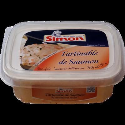 Tartinable de saumon Simon DUTRIAUX, 150g