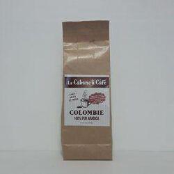 Café moulu Colombie 100% pur Arabica LA CABANE A CAFÉ paquet 250g