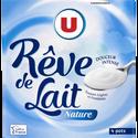 Nestlé Spécialité Laitière Fermentée Nature Rêve De Lait U, 4 Pots X125g