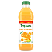 Tropicana Jus D'orange Raisin Banane Pure Prémium Tropicana, 1,5l