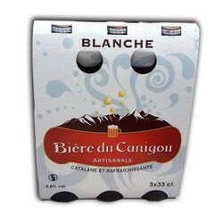 BIERE DU CANIGOU BLANCHE 3X33CL