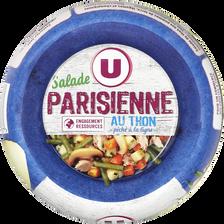 Salade parisienne au thon pêché à la ligne U, bol de 250g