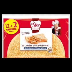 Crêpes 1/2 lune de Landerneau LE STER x12 +2 offertes 350g
