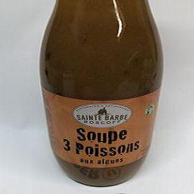 SOUPE 3 POISSONS AUX ALGUES
