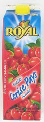 Nectar de cerise pays acerola ROYAL, brique de 1l