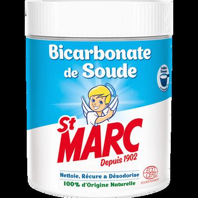 ST MARC, poudre bicarbonate soude nettoie, récure & désodorise, 500g