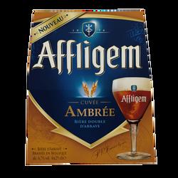 Bière ambrée d'AFFLIGEM 6,7° pack 6x25cl