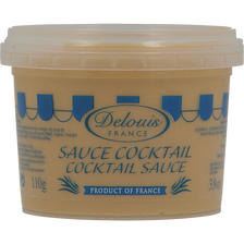 Sauce cocktail DELOUIS, pot de 110g