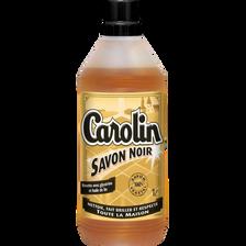 Nettoyant pour sols au savon noir CAROLIN, 1l