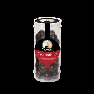 Croustillants breton palets noir TY GWENN, tubo 100g