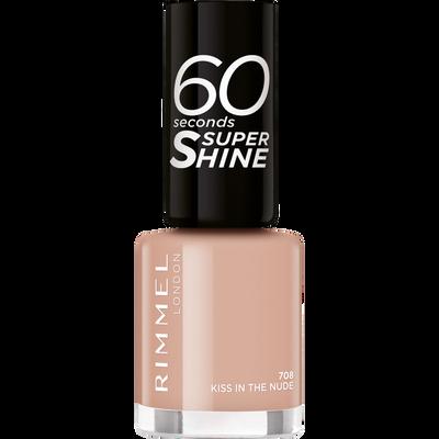 Vernis à ongles 60 seconds super shine col.block 708 kiss in the nude RIMMEL