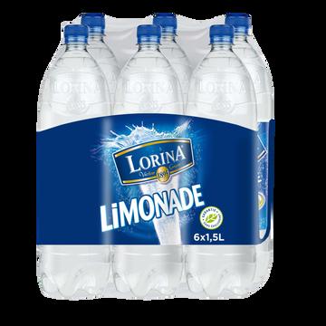 Lorina Limonade Aromatisée Double Zest Lorina, 6x1,5l Offre Spéciale