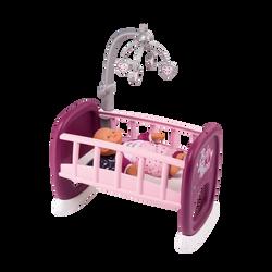 Smoby - Berceau à barreaux - Baby nurse - Dès 18 mois