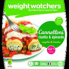 Cannelloni ricotta épinards WEIGHT WATCHERS,  290g