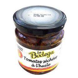 Tomate séchées à l'huile, ail et basilic, Bocal de 190G LA BODEGA