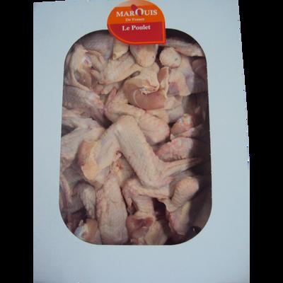 Ailes de poulet blanche MARQUIS DE FRANCE, 5kg