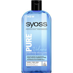 Shampooing micellaire pure volume SYOSS, 500ml