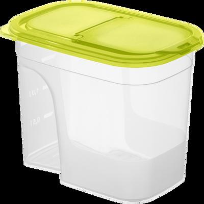 Boîte verseuse en polypropylène ROTHO, 2,2l, vert