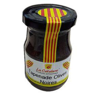 Pot de Tapenade d'olives noires 140G - LA CATALANE