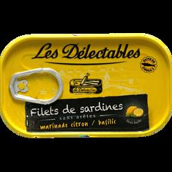 Filets de sardines à la sauce tomates et aux petits légumes LES DETECTABLES, 120g