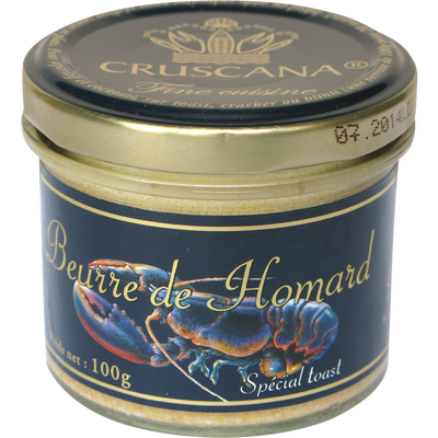 Beurre de homard CRUSCANA, verrine de 100g