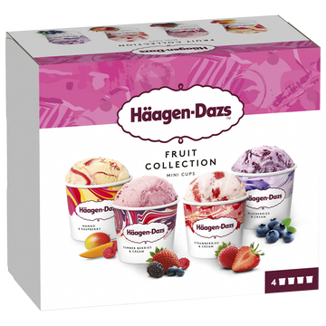Häagen-Dazs Haagen Dazs Minicup Fruit Collection 326g