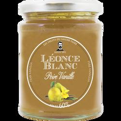 Préparation aux poires et vanille 60% LEONCE BLANC, 330g