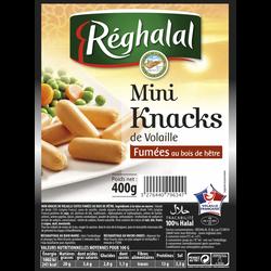Mini knacks volaille REGHALAL, 400g