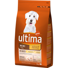 Croquettes pour petits chien Spécial Mini ULTIMA, 1,5kg