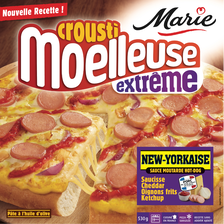 Pizza crousti moelleuse extrême new-yorkaise MARIE, 530g