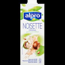 Boisson à base de noisette avec calcium et vitamines ajoutés, ALPRO, 1litre