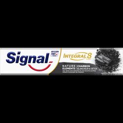 Dentifrice intégral 8 charbon nature élément SIGNAL, tube de 75ml