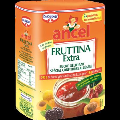 Sucre gélifiant Fruttina extra 2 en 1, DR OETKER ET ANCEL, boîte de 500g