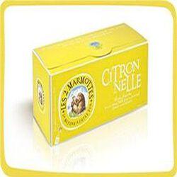 LES 2 MARMOTTES Infusions citronelle 30 Sachets 42g