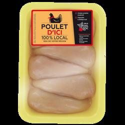 Filet poulet jaune, POULET D'ICI, France, 6 pièces