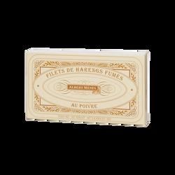 Filets de harengs fumés au poivre ALBERT MENES, 190g
