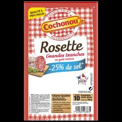Rosette teneur sel réduit vpf COCHONOU 10 tranches 100g