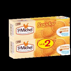 Roudor palets croustillants et fondants ST MICHEL, lot de 2 paquets, soit 300g