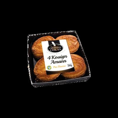 Kouign Amann, 4 pièces, 280g