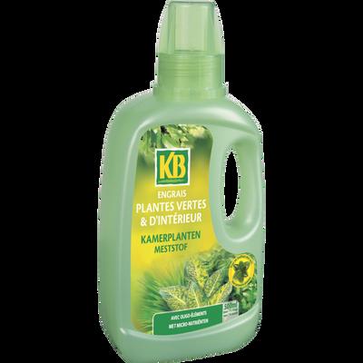 Engrais liquide pour plantes vertes d'intérieur KB, 500ml