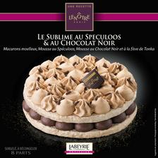 Labeyrie Le Sublime Au Spéculos Et Au Chocolat Noir , Recette Lenôtre 580g