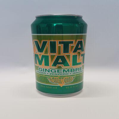 Vitamalt Ginger 50cl CAN