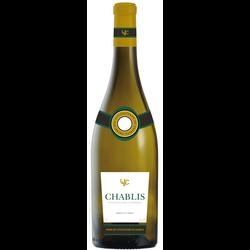 Vin blanc AOP Chablis Union des viticulteurs de Chablis, 75cl